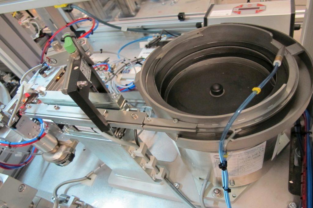 Automação Parts Sorting